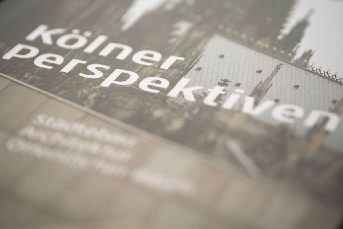 """""""Jeden Dienstag 19 Uhr – eine Stunde Baukultur"""" am heutigen 5. Juli 2016: Buchpräsentation """"Kölner Perspektiven. Architektur Städtebau Öffentlicher Raum"""""""