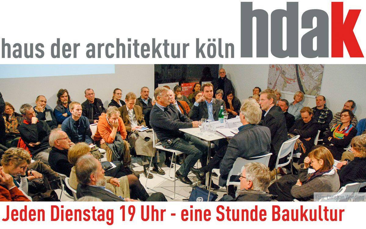 """""""Jeden Dienstag 19 Uhr – eine Stunde Baukultur"""" am heutigen 15. November 2016: Wohnraum für alle. Vielfalt und soziale Mischung der Stadtgesellschaft"""
