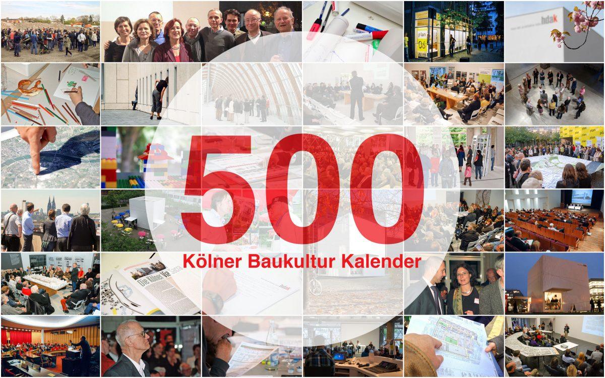 500. Kölner Baukultur Kalender