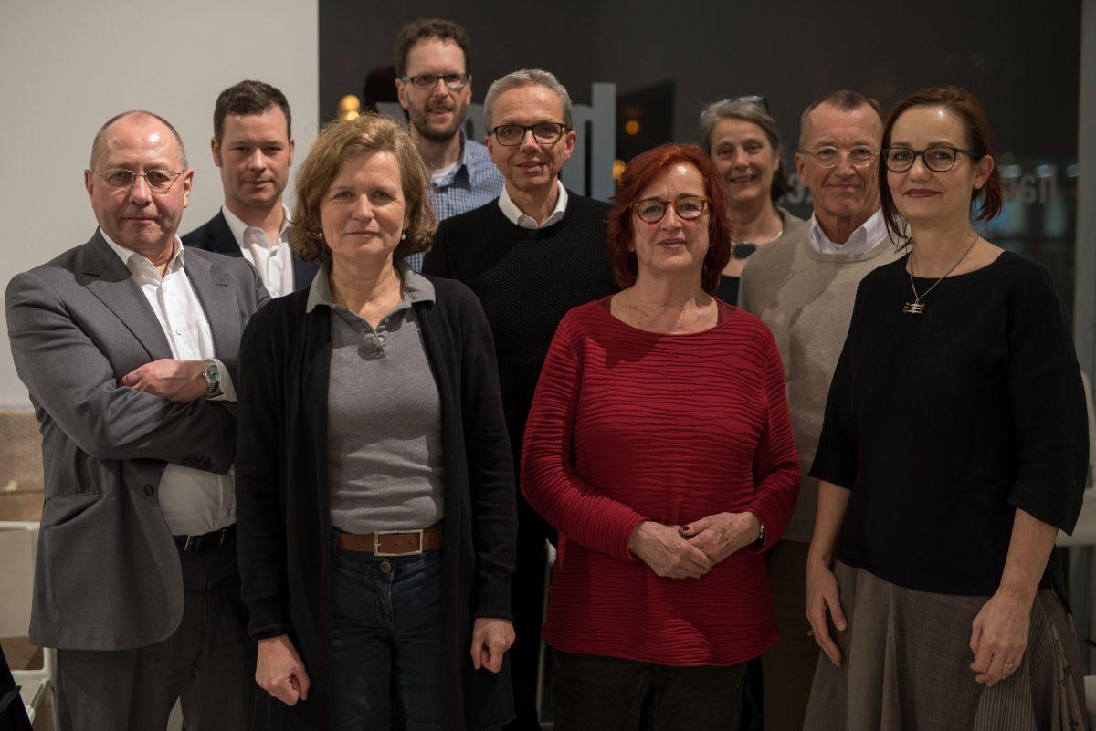 Der neue Vorstand im Haus der Architektur Köln